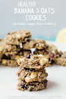 banana and oats cookies