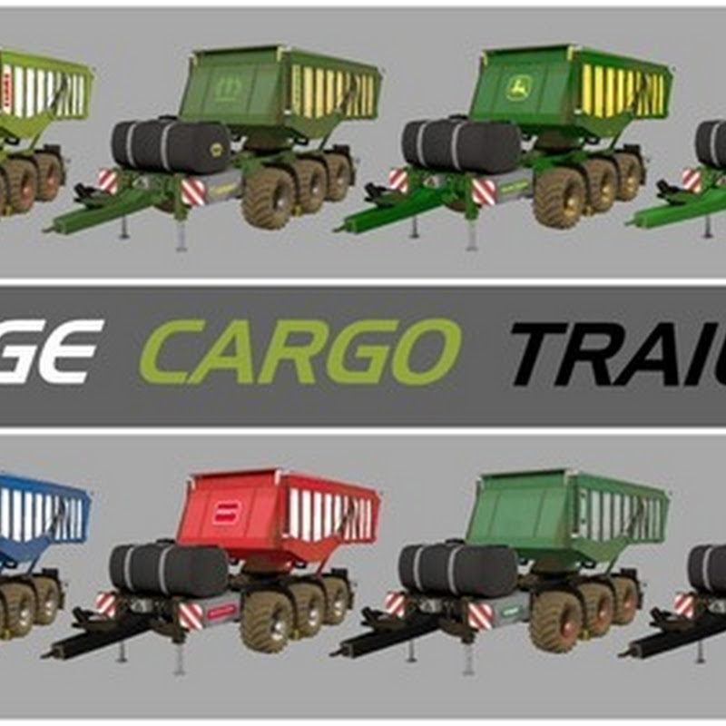 Farming simulator 2015 - Silage Cargo Trailers V 3.1 Final