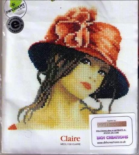 Miniatury Elegance Clairecross stitch pattern