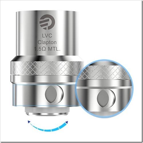 5pcs pack joyetech lvc clapton coil for cubis cubis pro ego aio 470 thumb%25255B2%25255D - 【新製品】メカニカルMOD「The Titan 26650 Mechanical Mod by Vaportech」と「IJOY Limitless RDTA Plus Atomizer」など