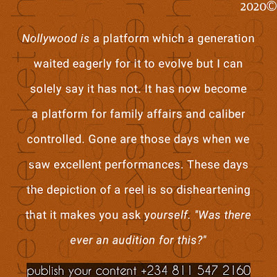 Readersketch, article, issues, Nigeria, Nollywood