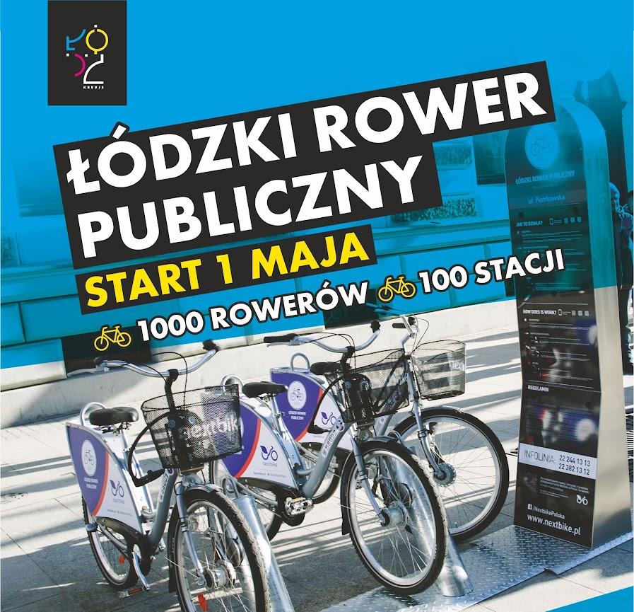 1 maja to rocznica przystąpienia Polski do Unii Europejskiej. Tego dnia Łódź przyłączy się do europejskich miast mających rower publiczny