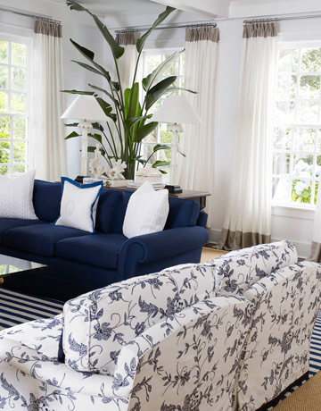 Home Redesign Hk Blue And White Living Room