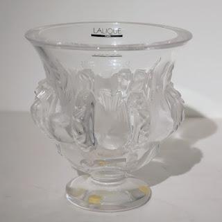 Lalique Dampirre Vase