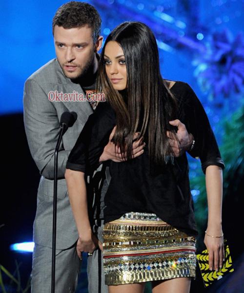 Foto Hot Justin Timberlake – Mila Kunis