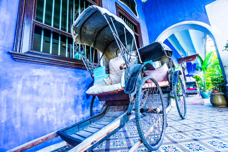 Penang Cheong Fatt Tze Mansion (Blue Mansion) rickshaw8