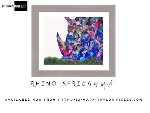 Rhino Africa by Mark Taylor