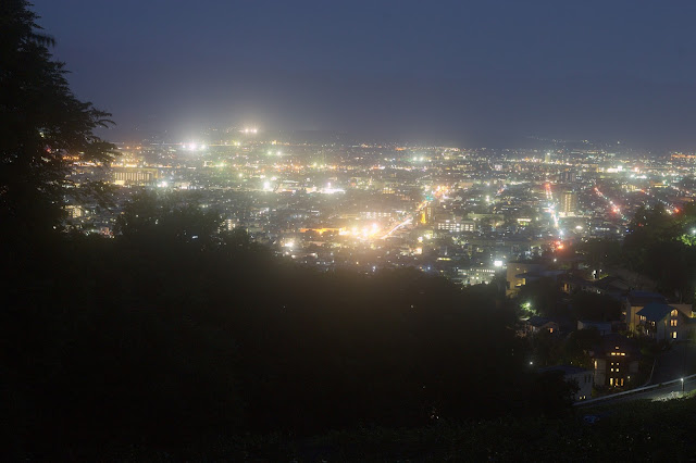 愛宕山夜景 nikkor auto 50mm