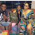 Actress Moyo Lawal Spotted With Mark Angel & Emanuella At Malaysia Mall