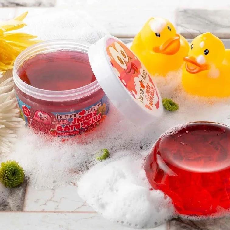 Human Nature Kids Jiggly Bath Jelly gel form