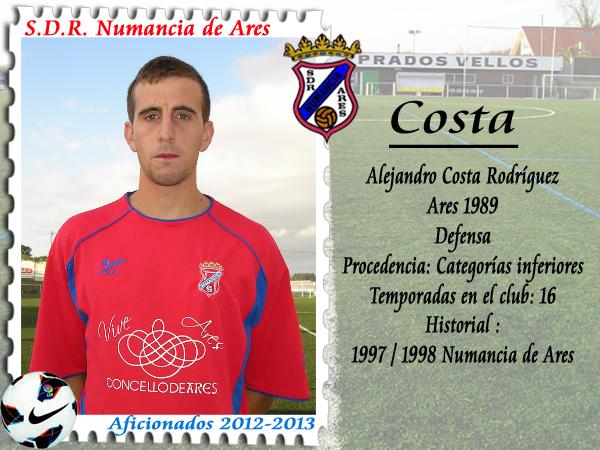 ADR Numancia de Ares. Costa.