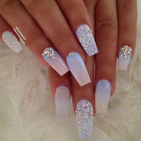 55 newest coffin nails designs for summer  fashionre