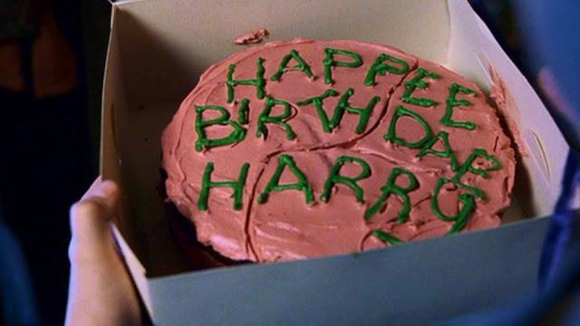 HB Receitas: Bolo de Aniversário do Harry Potter