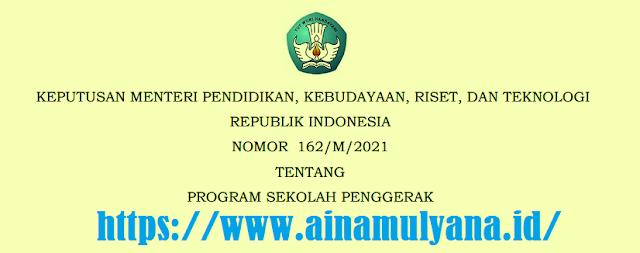Kepmendikbud Ristek Nomor 162/M/2021 Tentang Program Sekolah Penggerak