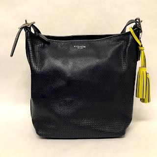 Coach Midnight Blue Bucket Bag