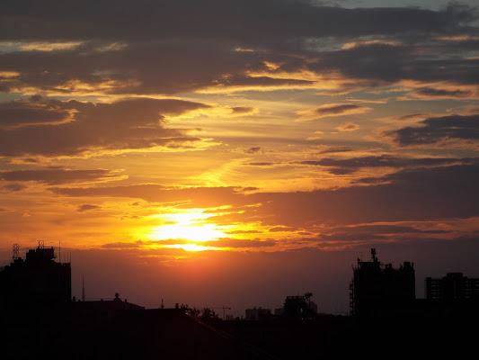 Primo tramonto dopo il solstizio di pandi
