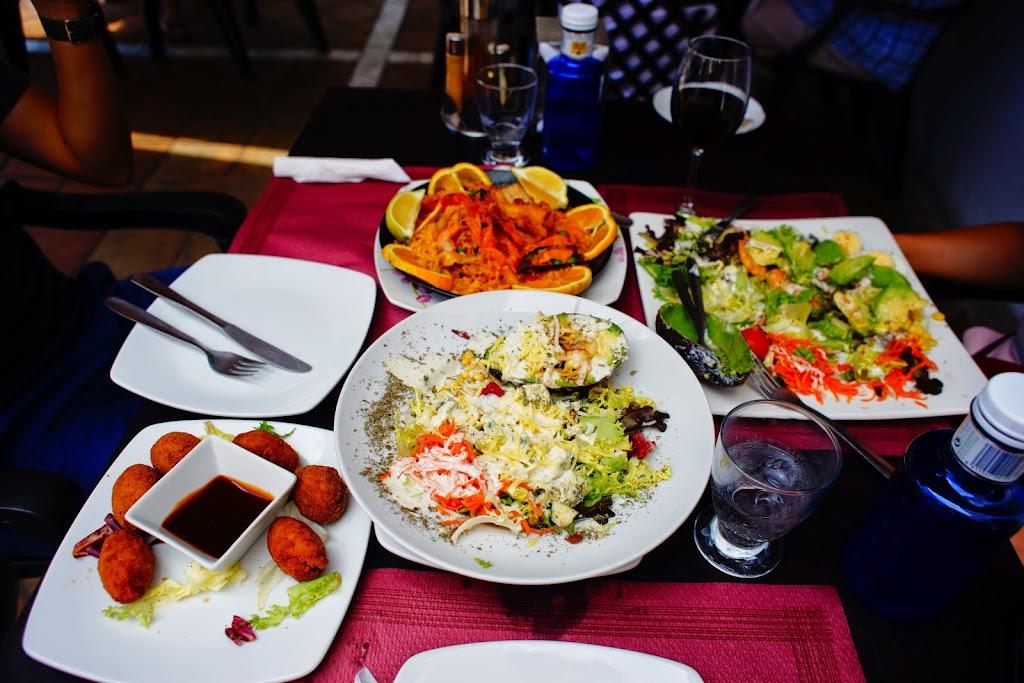 tasty lunch in Mijas