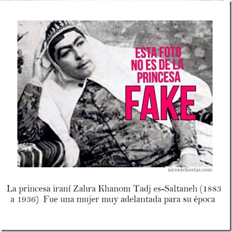 la preferida de Naser al-Din Sah Kayar, un rey persa del siglo XIX.