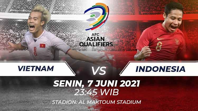 Live Streaming Vietnam vs Indonesia 7.6.2021