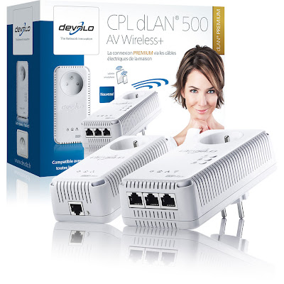 Devolo dLAN 500 AV Wireless+ Starter Kit (1829)