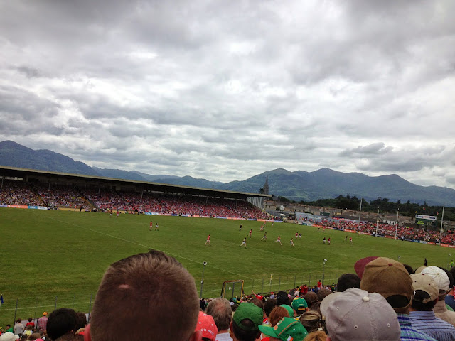 Munster final, Killarney. From Music, Ireland, Love: The Carnival at Bray