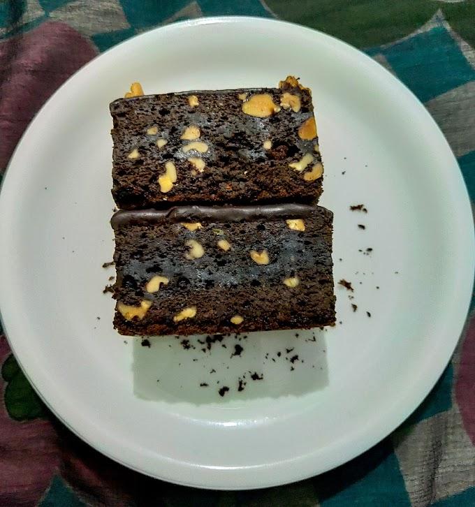 Chocolate Fudge Walnut Brownie Recipe| Breakfast Care
