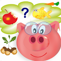 Well-fed farm (for kids) icon