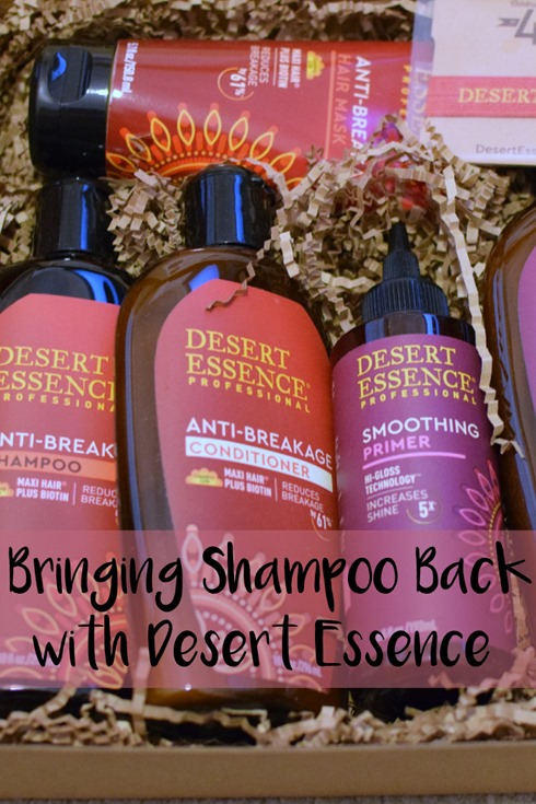 Bringing Shampoo Back With Desert Essence