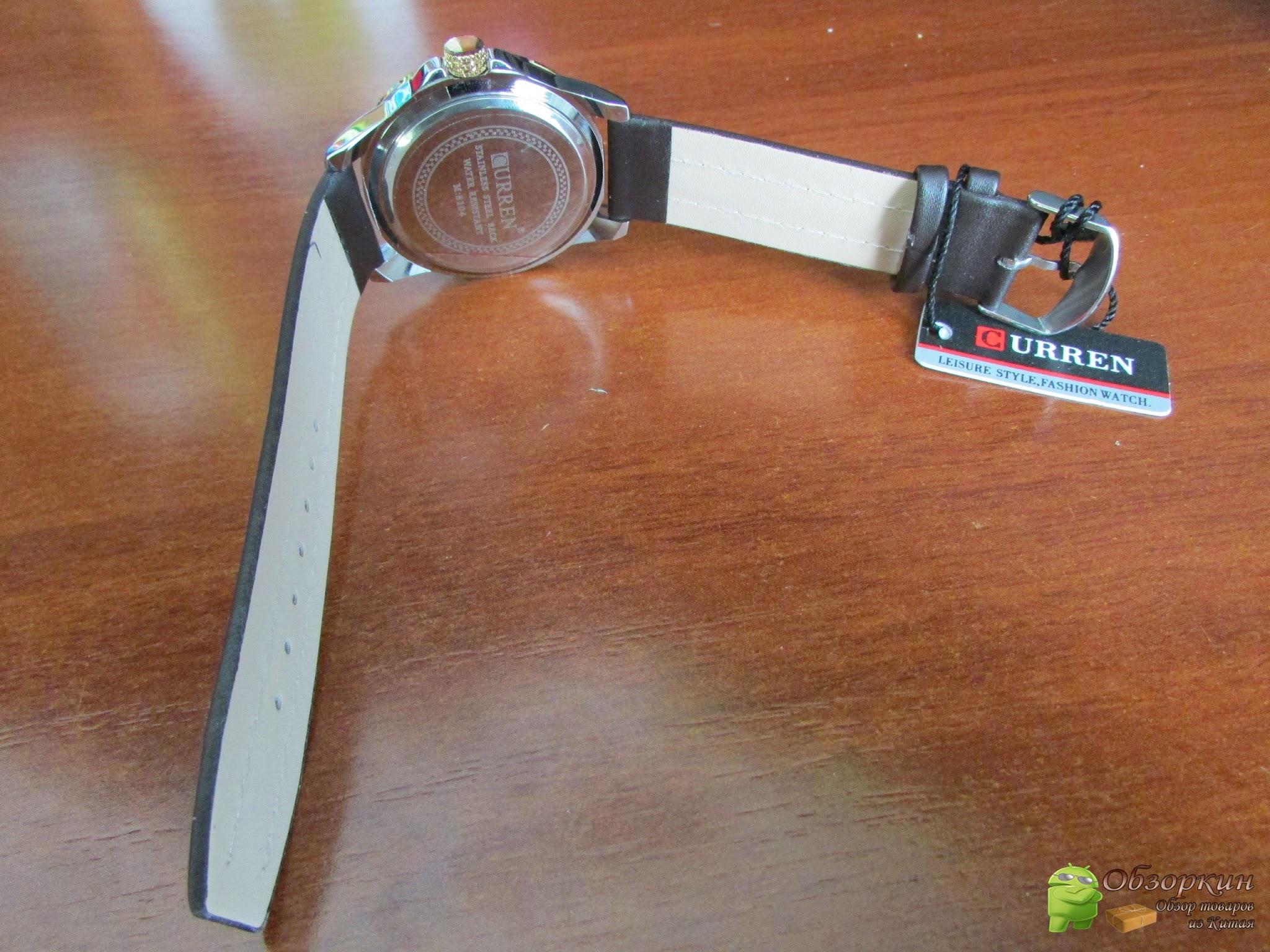 Реобас, часы Curren 8104 и карты памяти. Посылка из Китая. Aliexpress