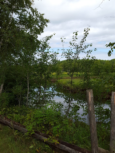 Walking the bucolic paths at the Acadian Historical Village, New Brunswick