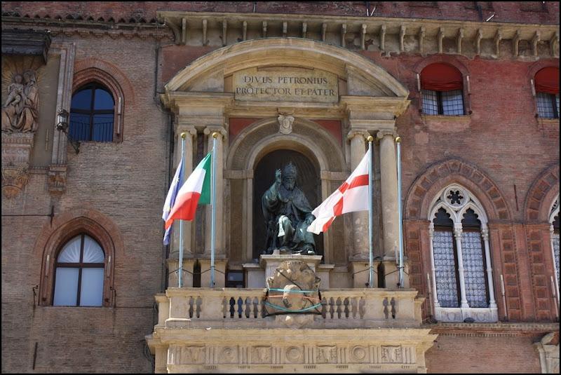 Front of Palazzo d'Accursio Bologna
