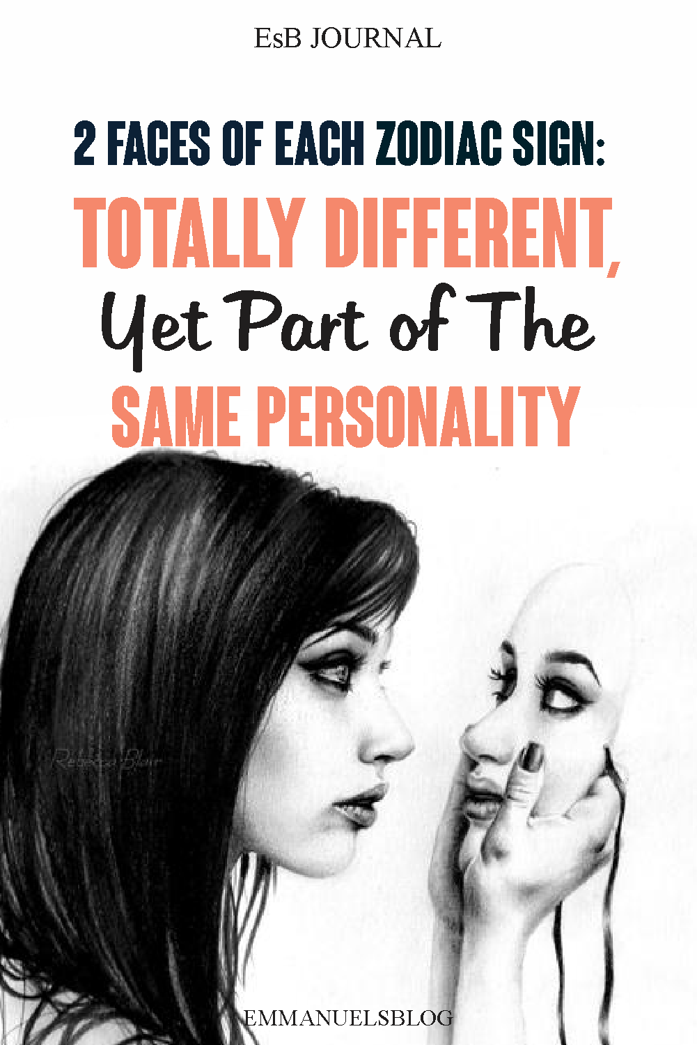 2 Faces Of Each Zodiac Sign: Totally Different, Yet Part of The Same Persona