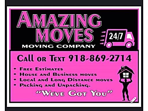 amazing moves 24 7 llc moving company