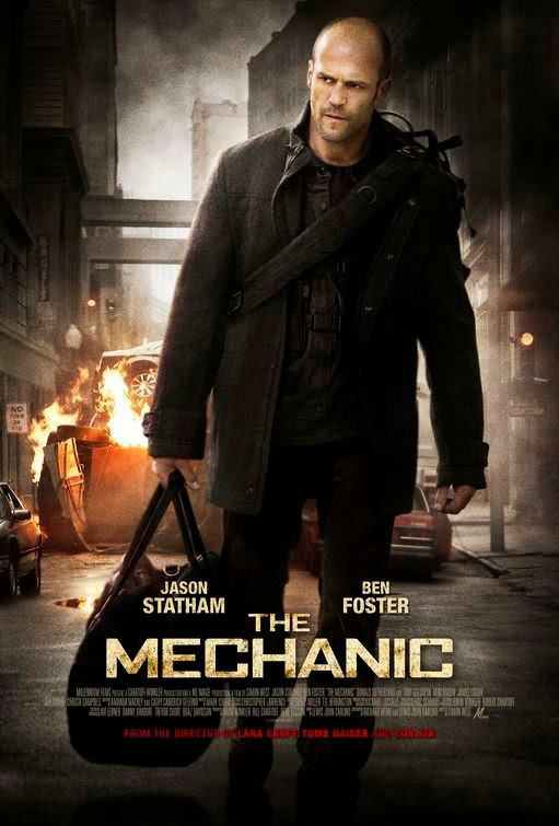 Poster Of The Mechanic (2011) Full Movie Hindi Dubbed Free Download Watch Online At Alldownloads4u.Com