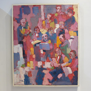 Ed Adler Signed Orchestra Painting