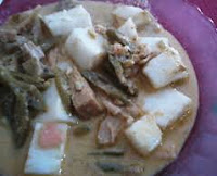 Resep Lontong Sayur Gulai Taoco Khas Minang