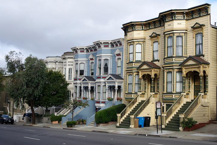 Viviendas Victorianas de San Francisco