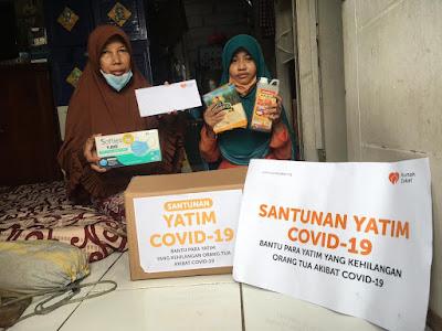 Momentum Tahun Baru Islam Rumah Zakat Menyantuni Yatim Terdampak Covid19
