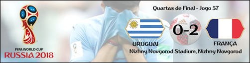 057 - uruguai 0-2 frança