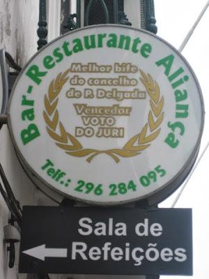 Restaurante Bar Aliança