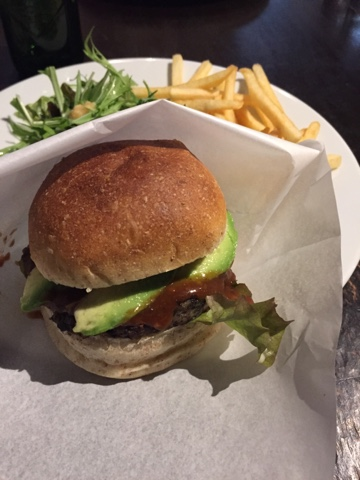 Matsuontoko is a vegan restaurant serving burgers and other vegan food in the city centre of Kyoto.
