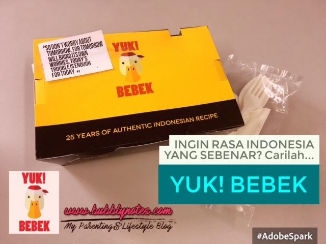 INGIN RASA INDONESIA YANG SEBENAR_CARILAH...YUK! BEBEK