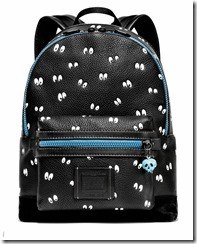 Leather Academy Backpack in MWBlack (32664)