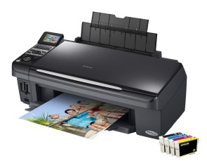 How to reset Epson CX8300 printer