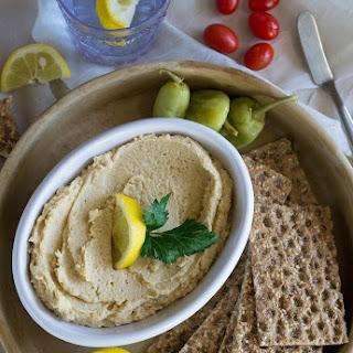 Oil-free Lemon Hummus.