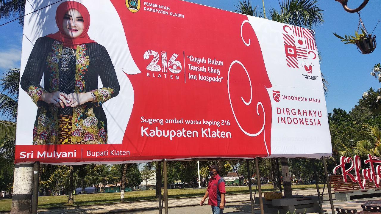 Kado Hari Jadi Klaten ke 216, Raih Piala Adipura Kebersihan Kota
