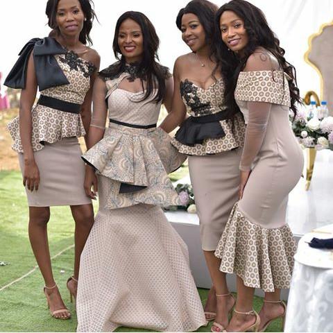 Fantastic Traditional Shweshwe Dresses Styles 2