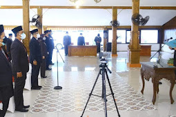 Bupati Probolinggo Hj. P. Tantriana Sari, SE Lantik 17 Pejabat Eselon II Dan III
