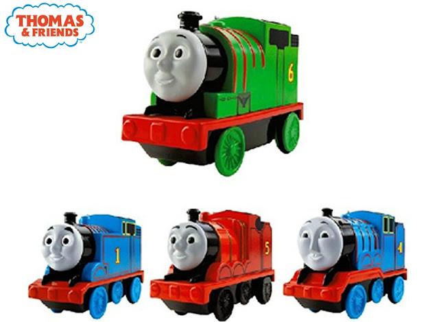 Mô hình các Đầu Tàu hỏa Thomas và các bạn chạy pin Fisher Price BGJ69