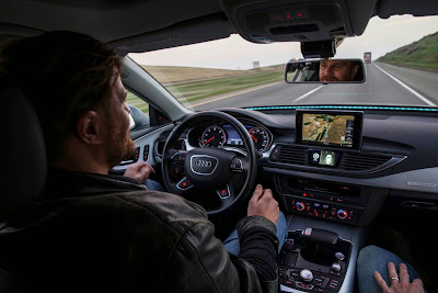Audi A7 Piloted Driving Concept Drives Silicon Valley to Las Vegas Drive 32